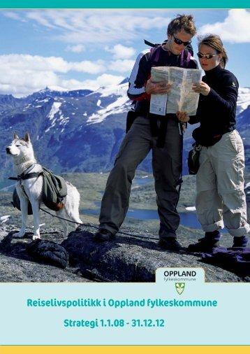 Reiselivsstrategi for Oppland - Oppland fylkeskommune