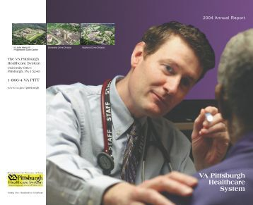 Annual Report 2004.indd - VA Pittsburgh Healthcare System