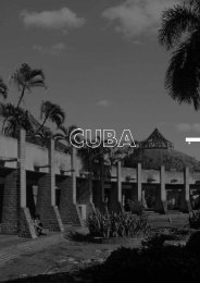 Cuba. Theory and Practice of Modern Regionalism