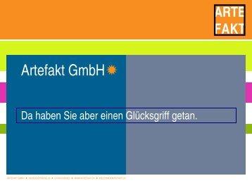 Artefakt GmbH