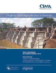 Le génie hydro-agricole pour le Rwanda - Canadian Consulting ...