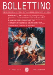 Gennaio 2005 (pdf - 372 KB) - Ordine Provinciale dei Medici ...