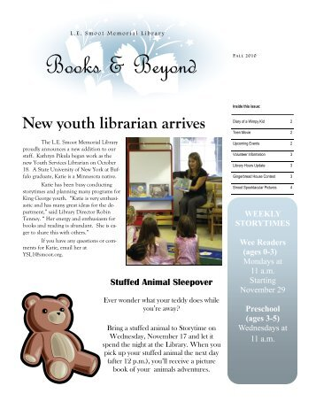 Books & Beyond - L.E. Smoot Memorial Library