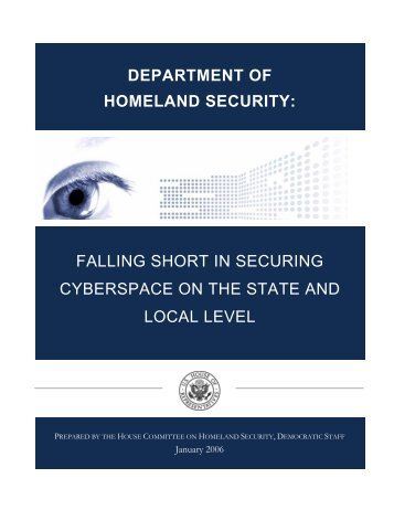 Democratic Analysis - Committee on Homeland Security
