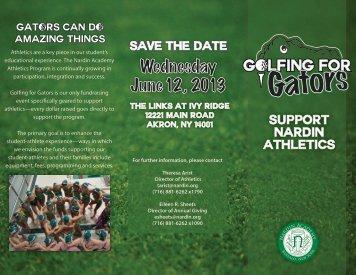 Wednesday June 12 , 2013 - Nardin Academy