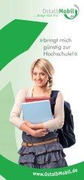 Das OstalbMobil SemesterTicket - Hochschule Aalen