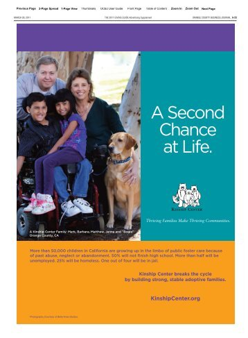 A Second Chance at Life. - Kinship Center