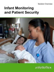 Read the Infant Monitoring and Patient Security Brochure - Intelleflex
