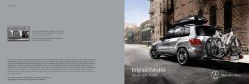 Original-Zubehör - Mercedes-Benz PRAHA