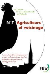 n°7 - Agriculteurs et voisinage - Fondation rurale de Wallonie