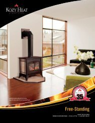 gas stoves brochure