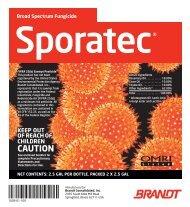 Broad Spectrum Fungicide Sporatec - Agrian