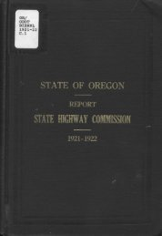 Fifth Biennial Report of the Oregon State ... - Planning Oregon