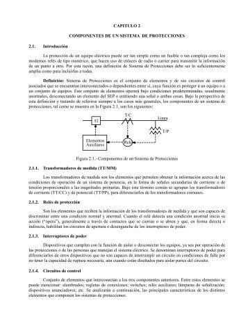 Componentes de un Sistema de Protecciones