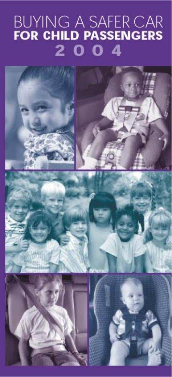 BASC Kids inside 2004v4.qxd - SaferCar.gov