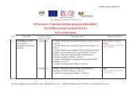 """ESF projekta """"Vispārējās izglītības pedagogu tālākizglītība ..."""