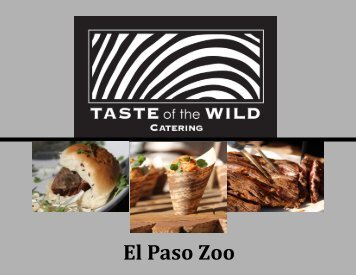 Company Outings and Other Events - the El Paso Zoo