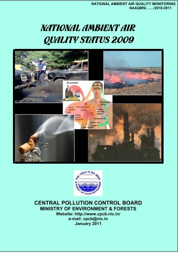 national ambient air quality status 2009 - Central Pollution Control ...