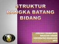 Struktur Rangka Batang Bidang - Universitas Brawijaya