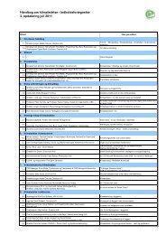 Indholdsfortegnelse 3. opdatering juli 2011 - Grontmij