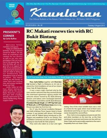 6 - Rotary Club of Makati