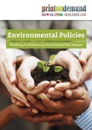 Our environmental policies - Printondemand-worldwide