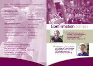 Confirmation Leaflet update 13:Layout 1.qxd - Diocese of Southwell ...
