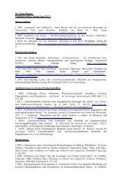 Dr. Tanja Bogusz Publikationsliste (Stand Juni 2013) - Centre Marc ...