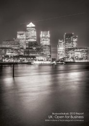 UK Open for Business Report - British Institute of Technology & E ...