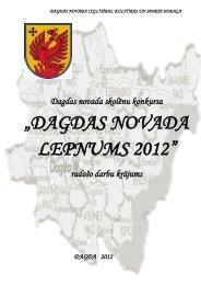 """""""DAGDAS NOVADA LEPNUMS 2012"""" - Dagda.lv"""