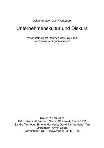 Rollenbriefing 2 - www-user - Universität Bremen