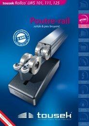 Poutre-rail - tousek GmbH