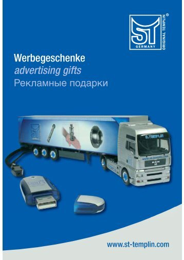 Werbegeschenke advertising gifts - ST-Templin.com