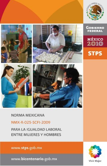 Norma Mexicana para la Igualdad Laboral entre Mujeres y Hombres