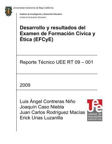 Reporte Técnico - UEE UABC - Universidad Autónoma de Baja ...