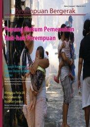 Buletin Perempuan Bergerak Edisi Januari-Maret ... - Kalyanamitra
