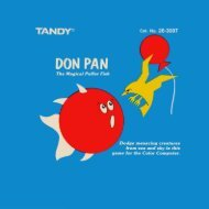 Don Pan (Tandy).pdf - TRS-80 Color Computer Archive