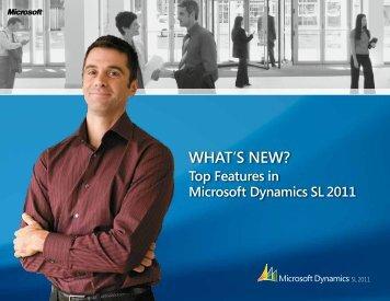 Brochure: What's new in Microsoft Dynamics SL 2011
