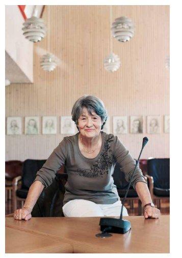 Antoinette Göggerle im Porträt in der Broschüre