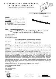 """""""Spielleutemusik"""" (LL-SpL) vom 26. - 28. April 2013 in Altgandersheim"""