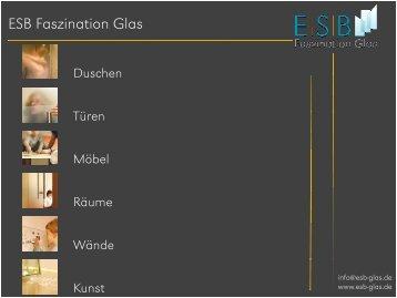 Kunst - Glas im Garten - ESB GmbH