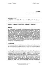 hrss hamburg review of social sciences