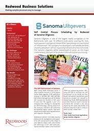 Sanoma Uitgevers - Redwood Software