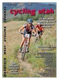 August 2007 Issue - Cycling Utah