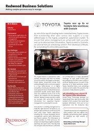 Toyota - Redwood Software