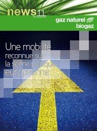 Une mobilité européenne - Le gaz naturel / biogaz - carburant du futur!