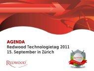 15:00 Uhr - Redwood Software
