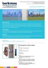 Technische informatie - BPG Bouwhof Groothandel