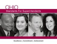 Standards For Superintendents - Educator Standards Board - Ohio ...