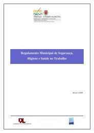 Regulamento Municipal de Segurança, Higiene e Saúde no Trabalho
